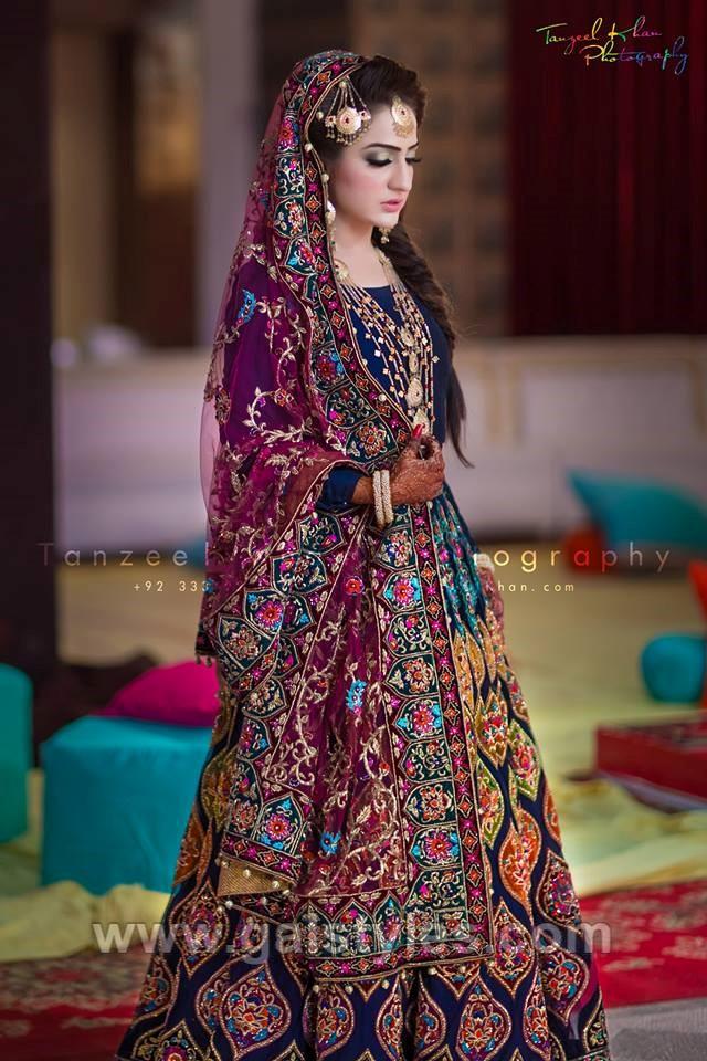 Latest Bridal Mehndi Dress Design  Trends Collection 2019