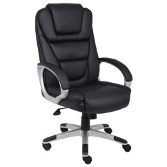 Boss Ntr Executive Leatherplus Chair Desk Icon B8601 Quotntr Quot Galt