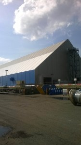 Biomass Fuel Store, Liverpool - Total Steelwork and Fabrications Ltd