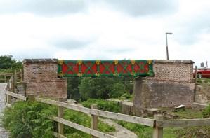 Meccano Galvanized and Painted Bridge