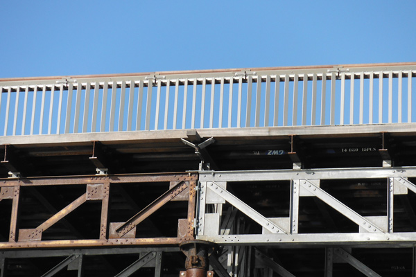Truss Inspection - Hastings Pier Restoration, Hastings Pier Charity