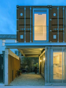 Ringsend Container House, Dublin LiD Architecture