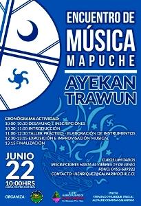 Encuentro de musica mapuche
