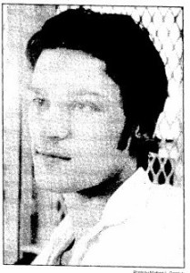 Warren Bridge on death row in 1988 (The Galveston Daily News)