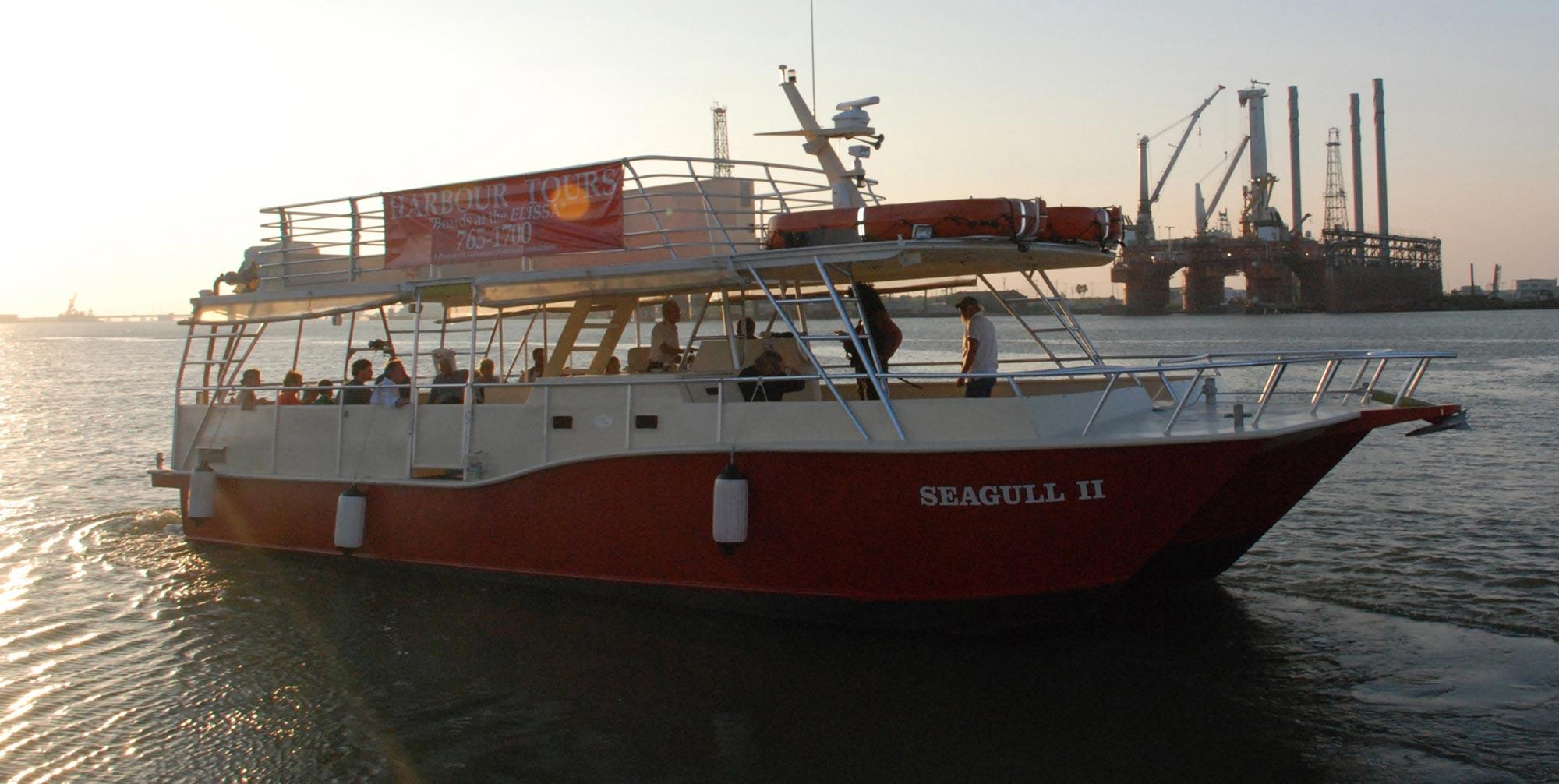 Seagull II Harbor Tour Amp Dolphin Watch Galveston