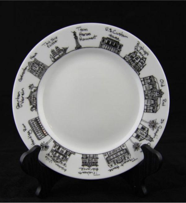 Cityscape Plate