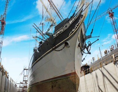 1877 ELISSA Dry Dock