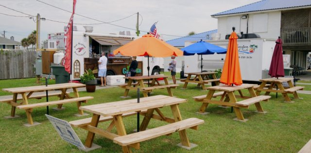 Galveston Food Truck Park in Sea Isle