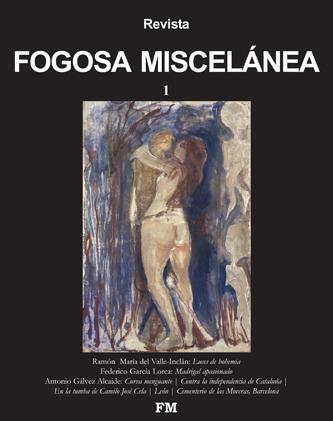 La imagen de la revista es un cuadro de Edvard Munch