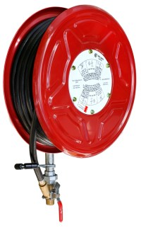 Red Emperor F1 Fixed Fire Hose Reel with Swing Guide Arm ...