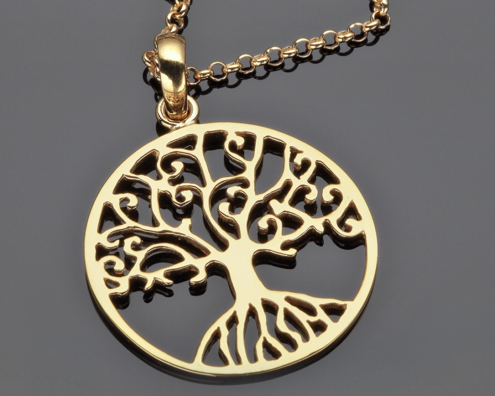 KETTE LEBENSBAUM SCHMUCK ONLINE TREE OF LIFE JEWELLRY  GALWANI
