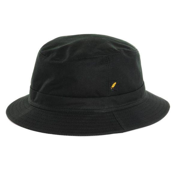Crushable Hat - Green Wax Bucket Hatman Of Ireland