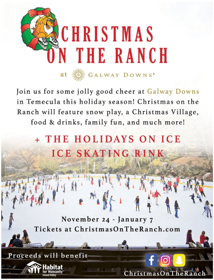 christmas on the ranch galway downs events weddings equestrian more temecula wine country