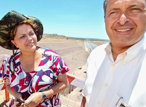 Dilma e Campos