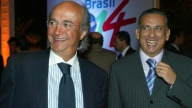 Galvão Bueno e J.Hawilla