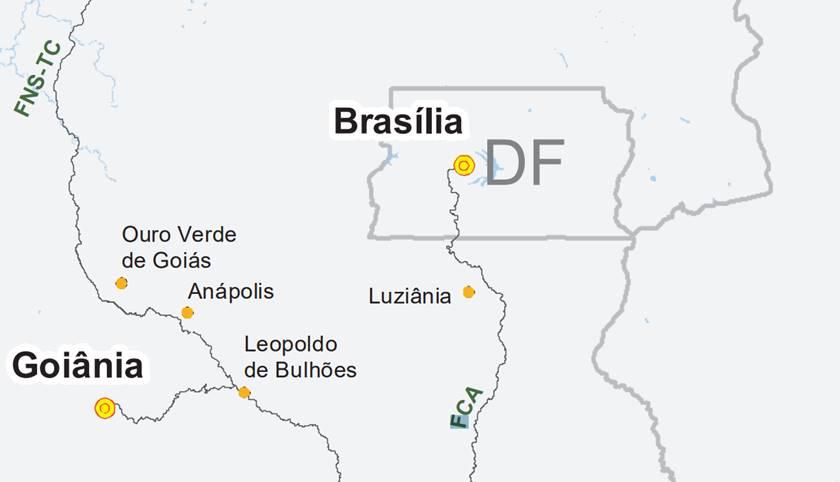 Nova linha Brasília-Valparaíso tem previsão de começar a rodar em 27 dias