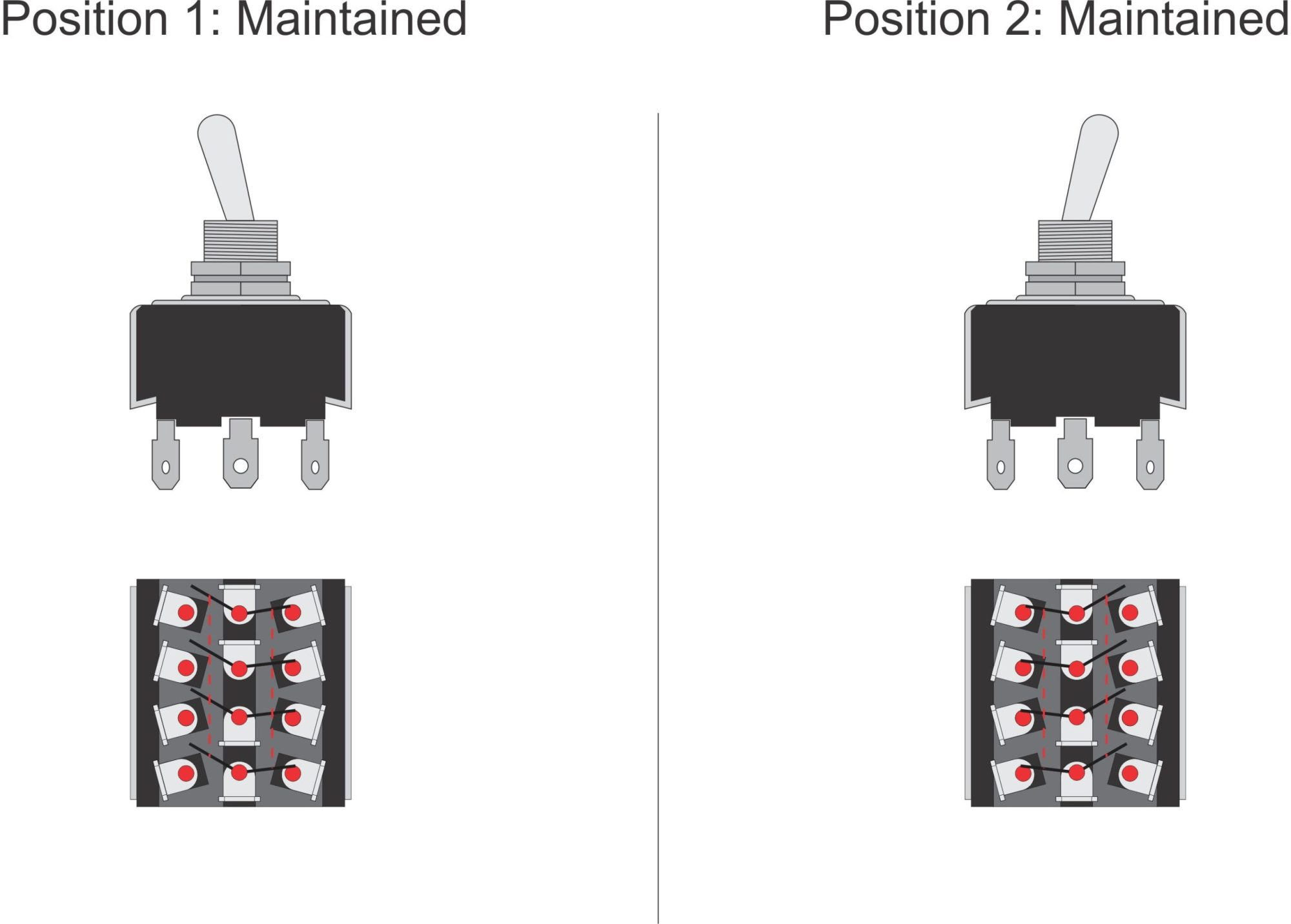 hight resolution of 4pdt 2 14 95 toggle switch