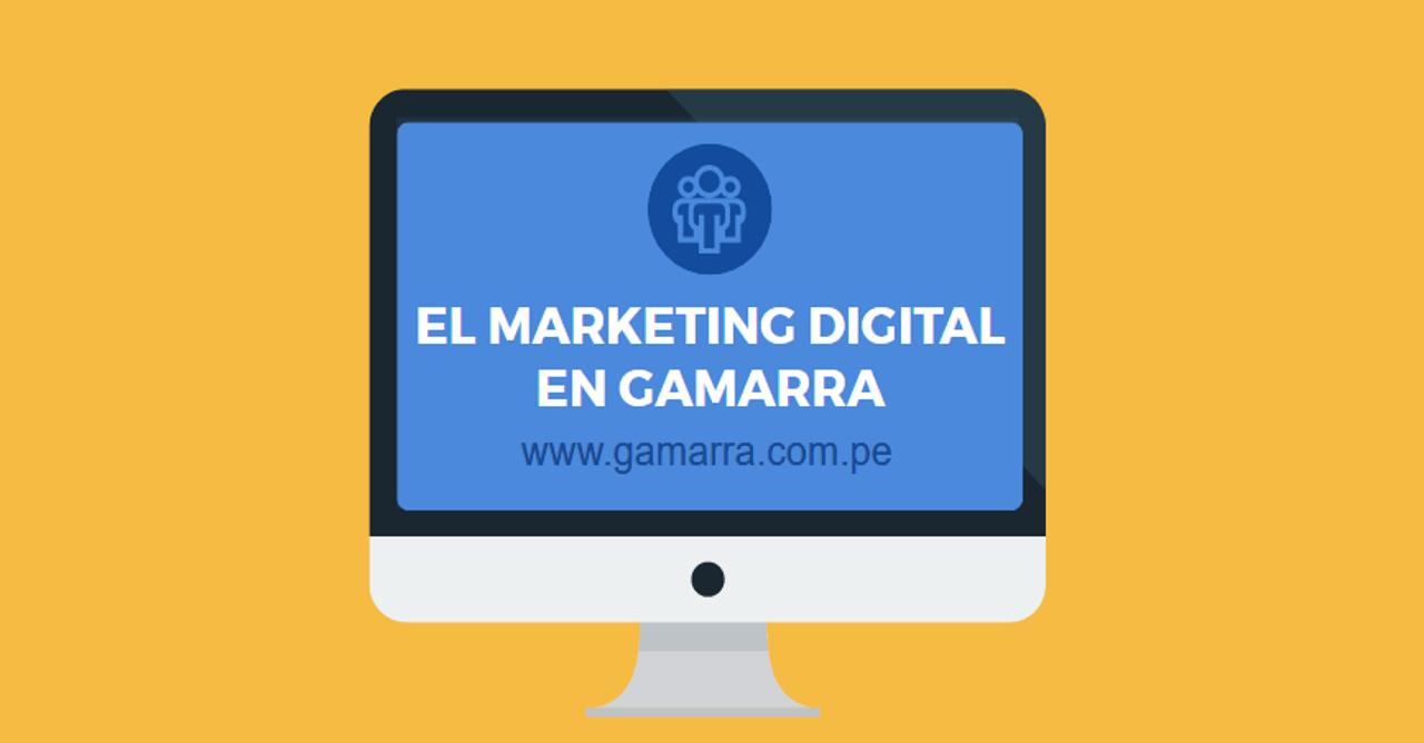 Los nuevos clientes de Gamarra están en internet