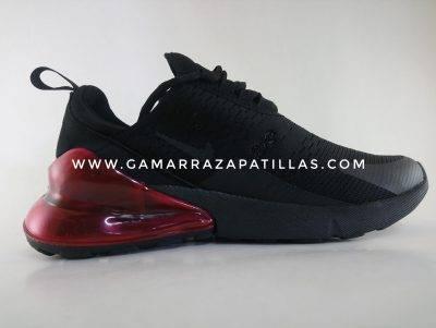 Zapatillas Nike Nero con Rojo