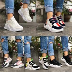 Zapatillas con Banda para Damas