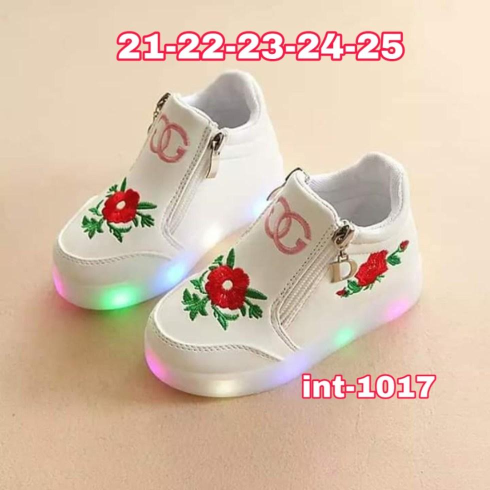 Zapatillas con cierre y luces niñas 3