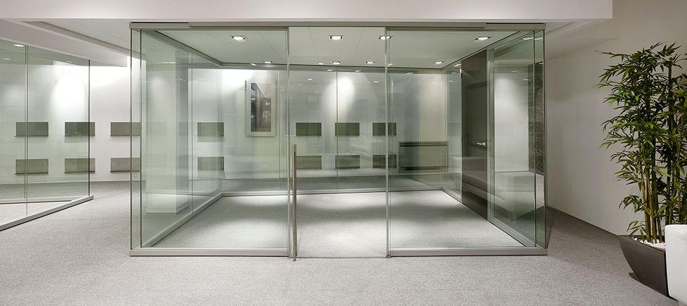 Pareti divisorie in Vetro  Leleganza per i tuoi uffici