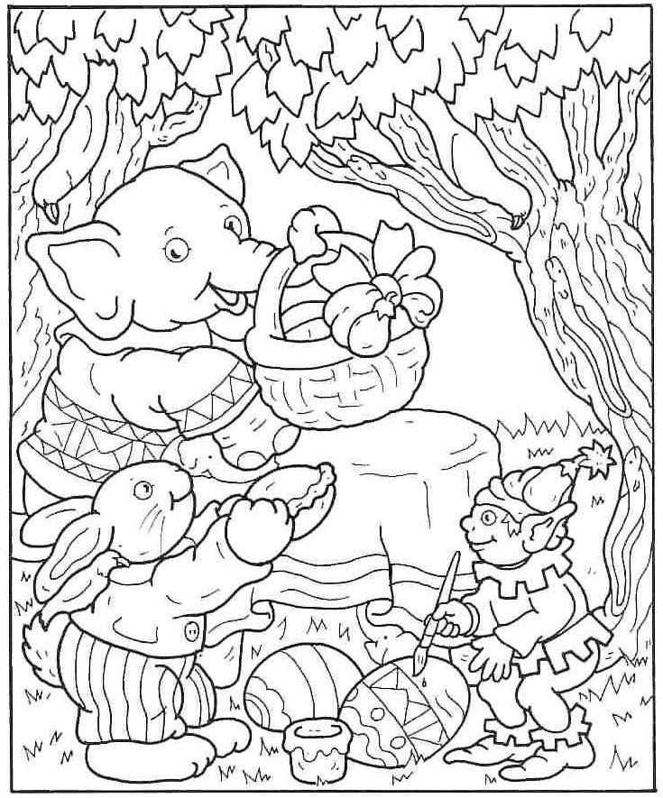 Gambar Mewarnai Paskah Gif Gambar Animasi  Animasi