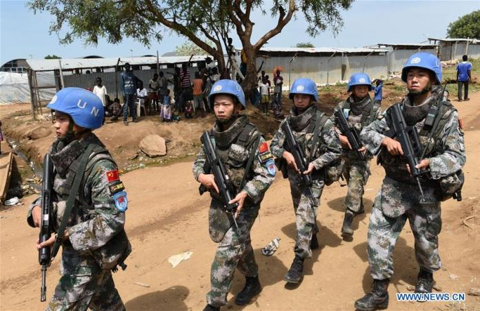 200 Peacekeepers soldiers sent to South Sudan - Gambeta News