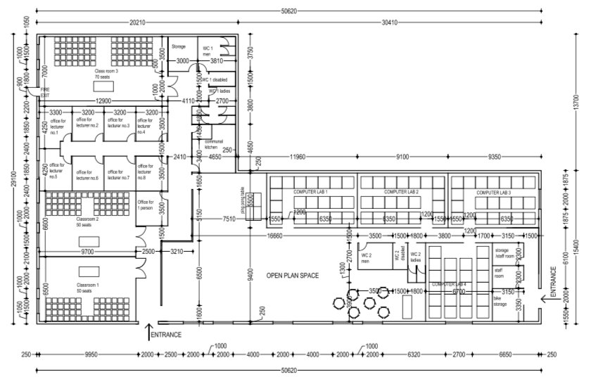 How to Prepare the General Arrangement (GA) of a Building