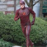 The Flash On Set Pictures & Video
