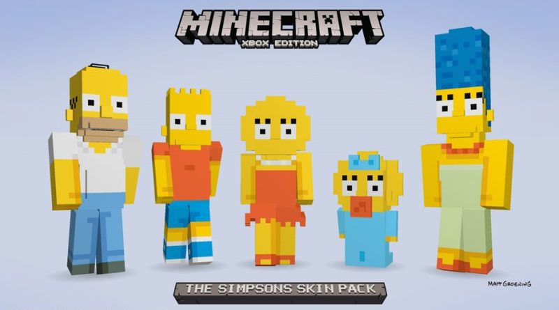Skinpack_TheSimpsons