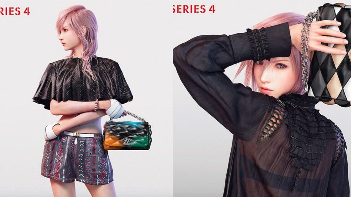 final fantasy xiii s lightning is the new face of the louis vuitton