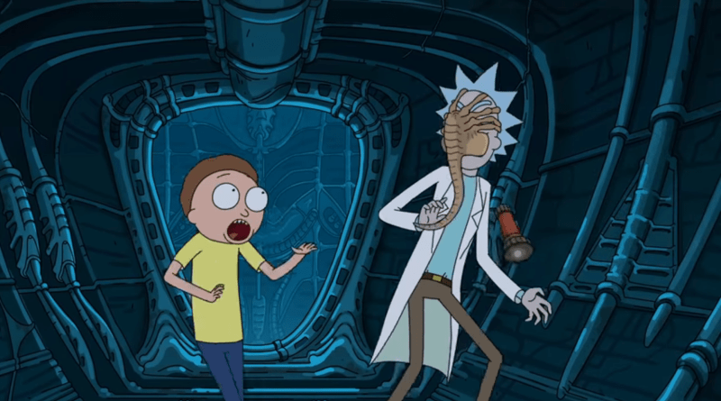 Rick and Morty Alien: Covenant