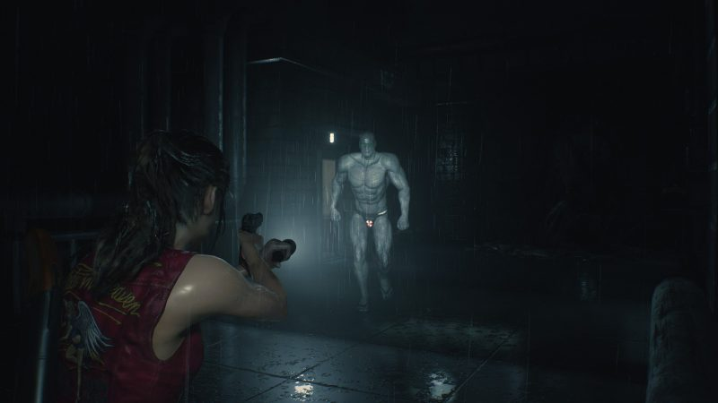 Resident Evil 2 Mods Show Off Mr  X's Beach Bod