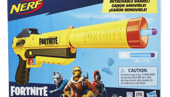 toy fair 2019 nerf teams up with fortnite - fortnite ea sports