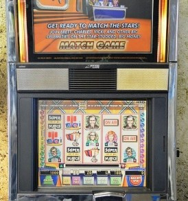 Match Game Williams Bluebird 1 Slot Machine by WMS for sale
