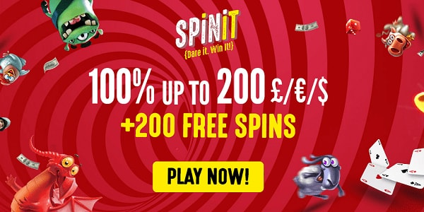 Spinit Casino 3 good reasons to sign up