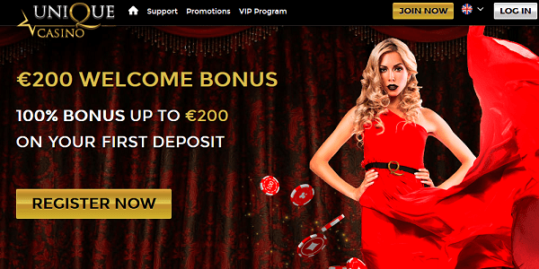 Unique casino review and rating