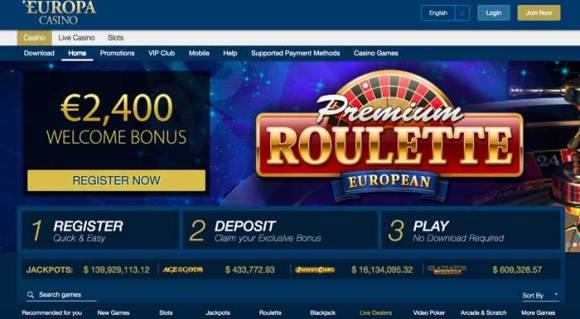 Online Europa Casino Review - Is Europa Casino Your Best ...