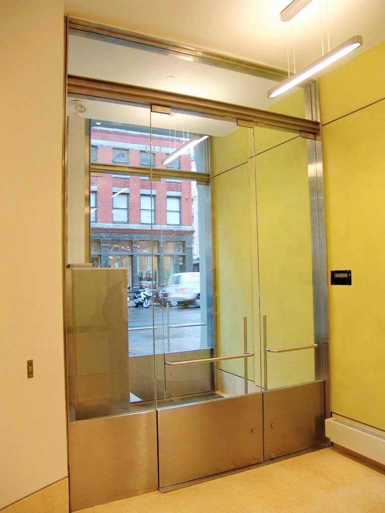 Frameless Glass Door System - Project 6