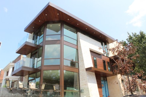 Curtain Wall - Astoria residence