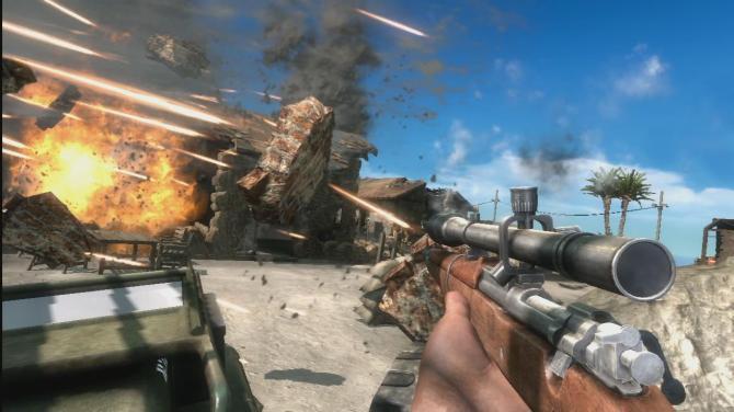 Battlefield 1943 - PC Version mitten im Gefecht