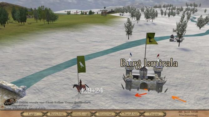 Mount & Blade Warband  - Die Map in der Kampagne