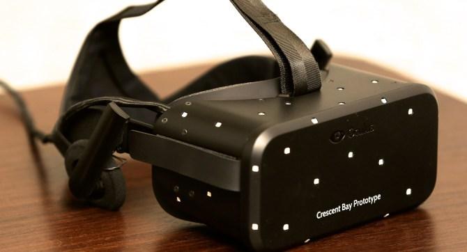 Oculus Rift - Brille in Hauptansicht