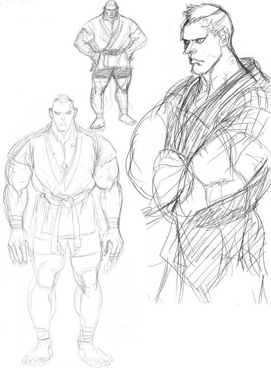 Read about Abel from Street Fighter, view Game Art about