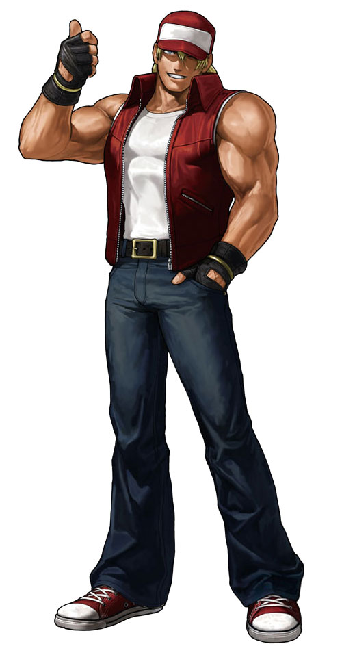 Terry Bogard Official Render Art From King Of Fighters Xiii