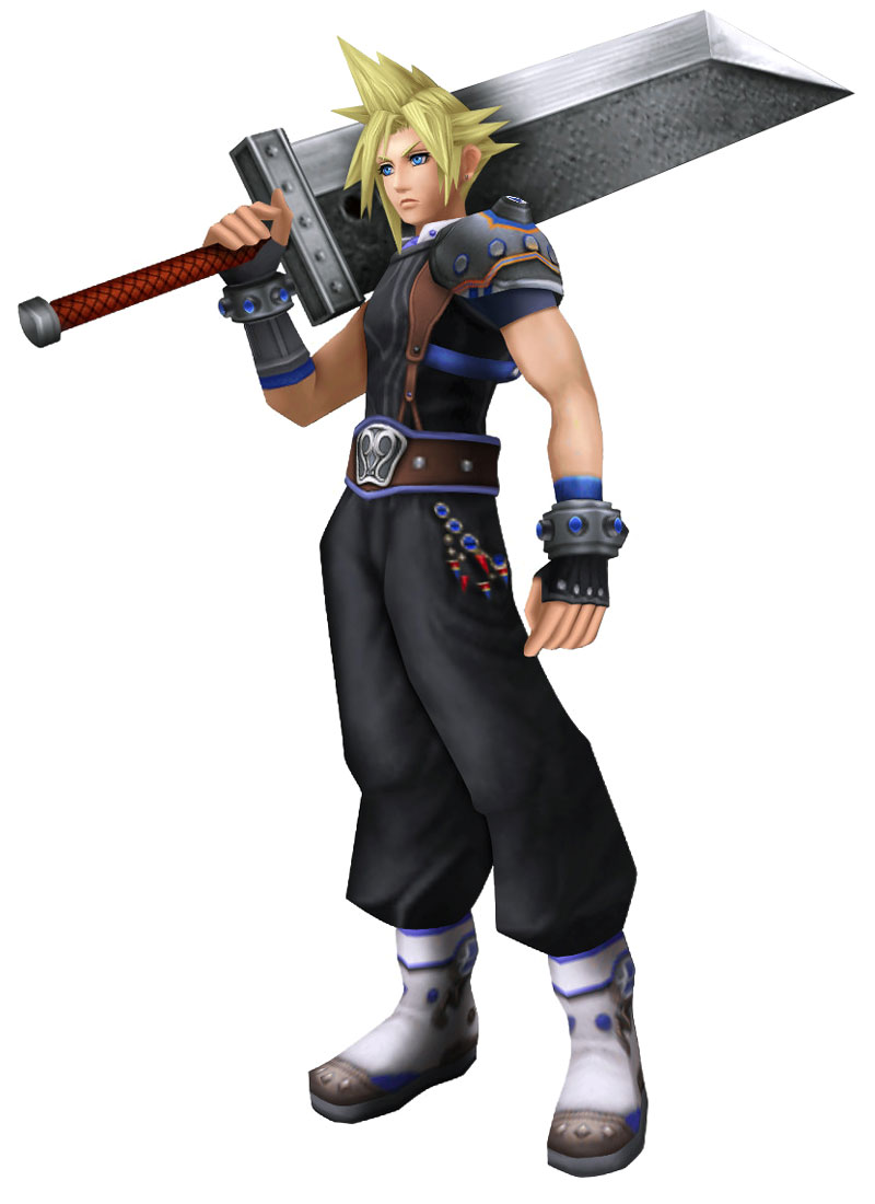 Cloud From Final Fantasy 7 Game Art And Cosplay Gallery