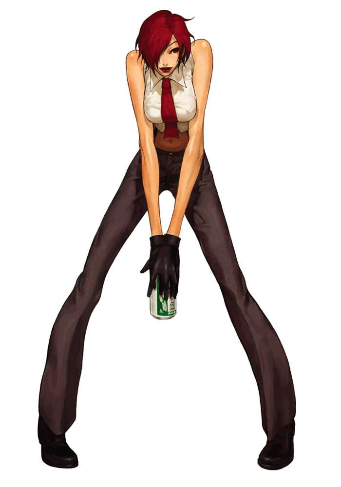 Character Design King Of Fighters : Vanessa official render art from king of fighters