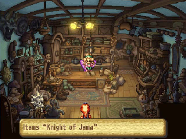 Legend of Mana Screenshots Playstation Game