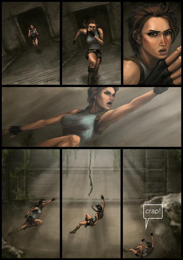Lara Croft Fan Art By 2Dforever-3531